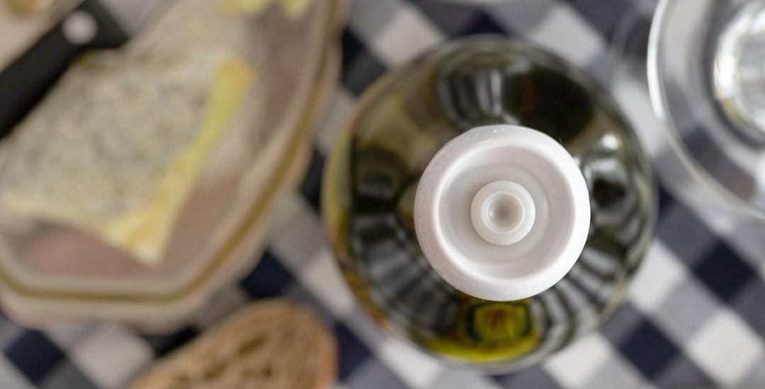 Bouchon sous vide pour bouteille